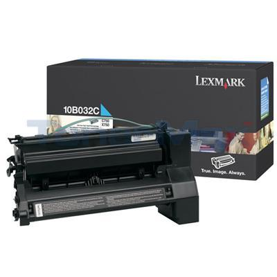 LEXMARK C750 PRINT CART CYAN 15K